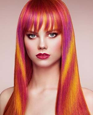 آموزش تغییر رنگ مو